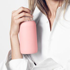 BKR Opaque Pastel Fluorescent Coral Water Bottle